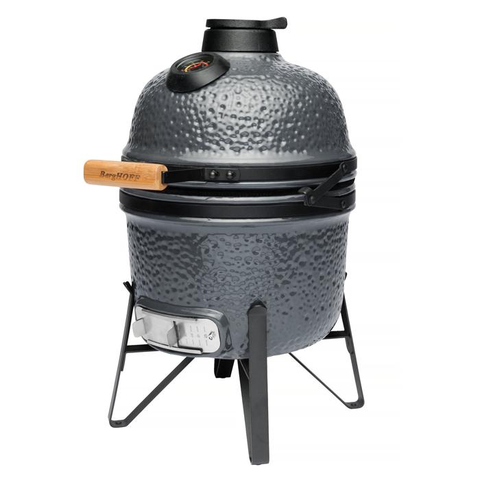 Маленький керамический гриль-печь Berghoff, серый