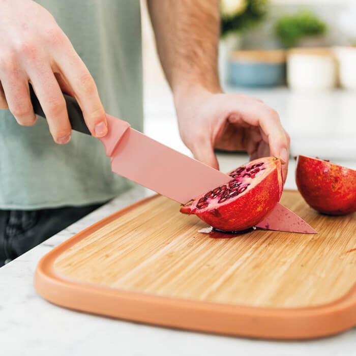 Нож поварской Berghoff LEO с покрытием, розовый, 19 см