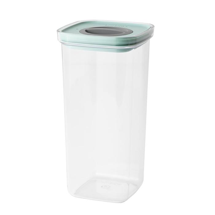 Контейнер для еды со смарт-системой хранения Berghoff LEO, 1,6 л, 11,5 х 11,5 х 22,5 см
