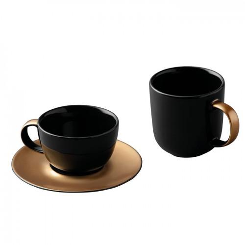 Набор для чая и кофе Berghoff GEM, черный