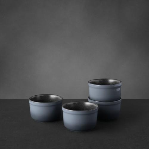 Набор форм керамических для выпечки Berghoff GEM, круглые, диам. 10 см, 400 мл, 4 пр.