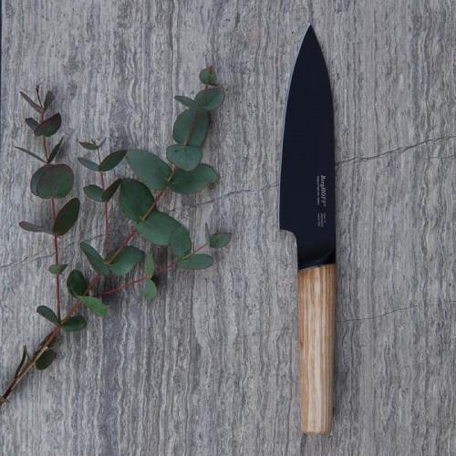 Нож поварской с деревянной ручкой Berghoff RON, с покрытием, 13 см