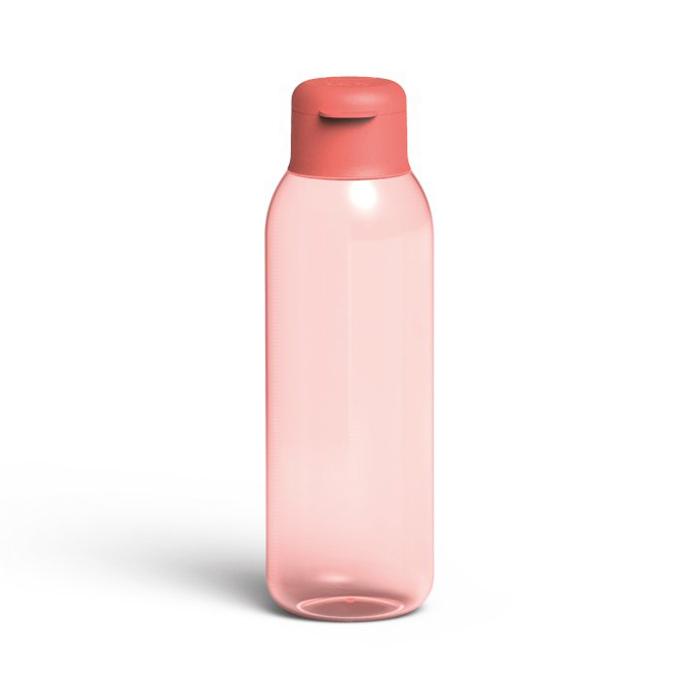 Бутылка для воды Berghoff LEO, пластиковая, розовая, 0,75 л