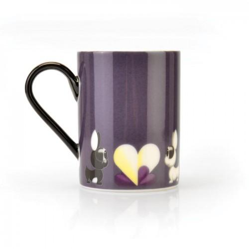 Набор кружек Berghoff Lover by Lover, фиолетовые, 300 мл, 2 шт.