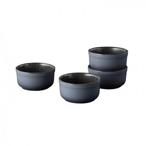 Набор форм керамических для выпечки Berghoff GEM, круглые, диам. 8 см, 180 мл, 4 пр.