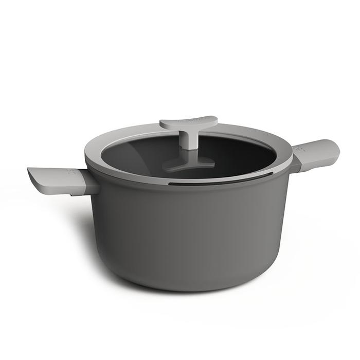 Кастрюля с антипригарным покрытием Berghoff LEO, диам. 24 см, 5,5 л