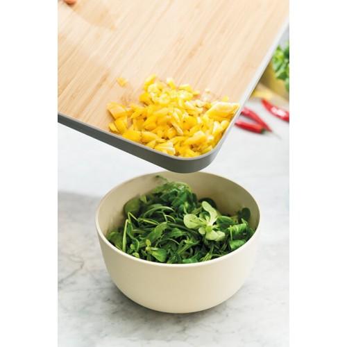 Доска кухонная Berghoff LEO с угловым бортиком, 41 х 30,5 х 4 см