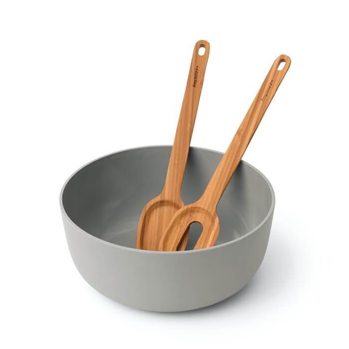Набор для салата Berghoff, миска и деревянные приборы, 3 пр.