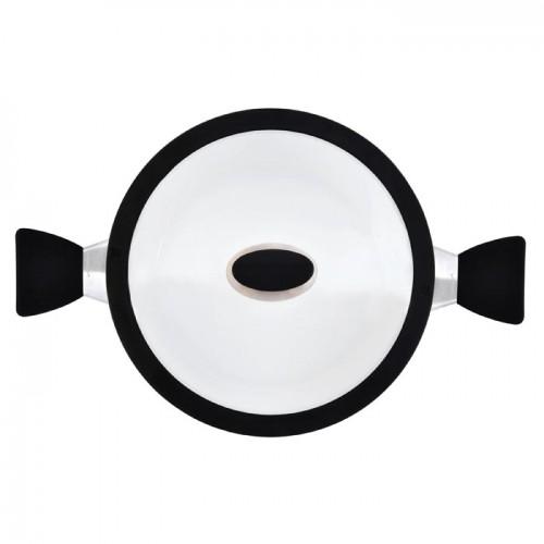 Кастрюля Berghoff  Eclipse с крышкой, диам. 24 см, 4,6 л