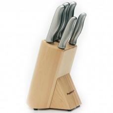 Набор ножей Berghoff в колоде, с металлическими ручками, 6 пр.