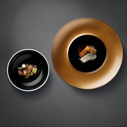 Тарелка для пасты Berghoff GEM с крышкой, черная