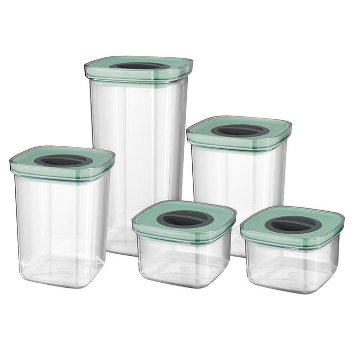 Набор контейнеров со смарт-системой хранения Berghoff LEO, 5 шт.