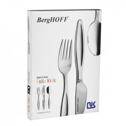 Набор столовых приборов для детей Berghoff Folio Kids, 3 пр.