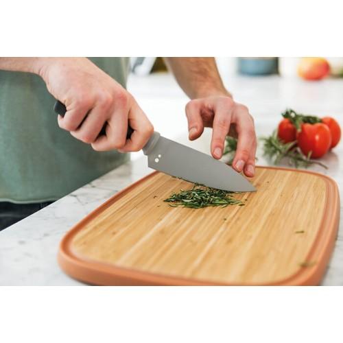Нож поварской Berghoff LEO с отверстиями для чистки пряных трав, 14 см