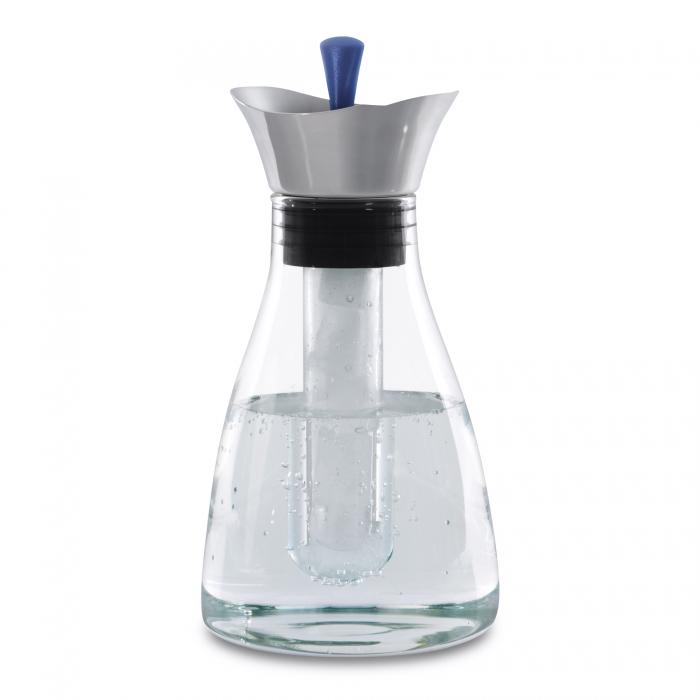 Графин для напитков стеклянный Berghoff, с кришкой, диам. 13 см, Н 26 см, 1,2 л