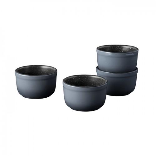 Набор форм керамических для выпечки Berghoff GEM, круглые, диам. 8 см, 220 мл, 4 пр.