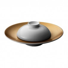 Тарелка для пасты Berghoff GEM с крышкой, белая