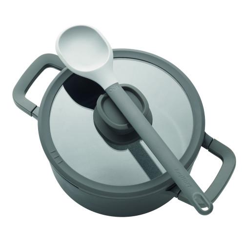 Кастрюля с антипригарным покрытием Berghoff LEO STONE, диам. 24 см, 4,4 л