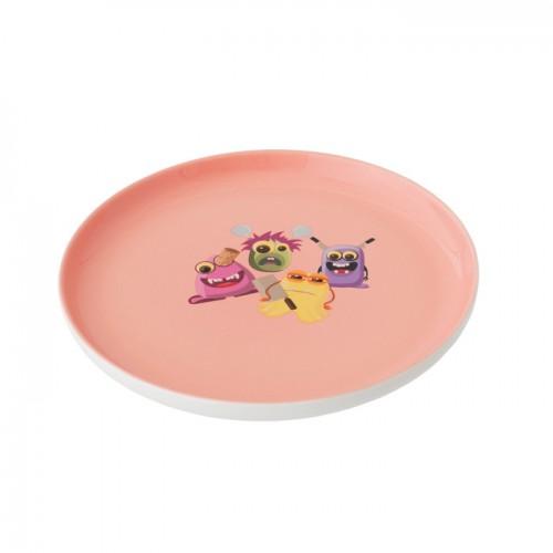 Набор посуды Berghoff Monsters, фарфор, розовый, 3 пр.