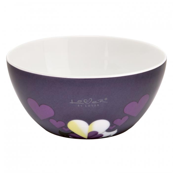 Мисочка для мюсли  Berghoff Lover by Lover, фиолетовая, 0,75 л, 2 шт.