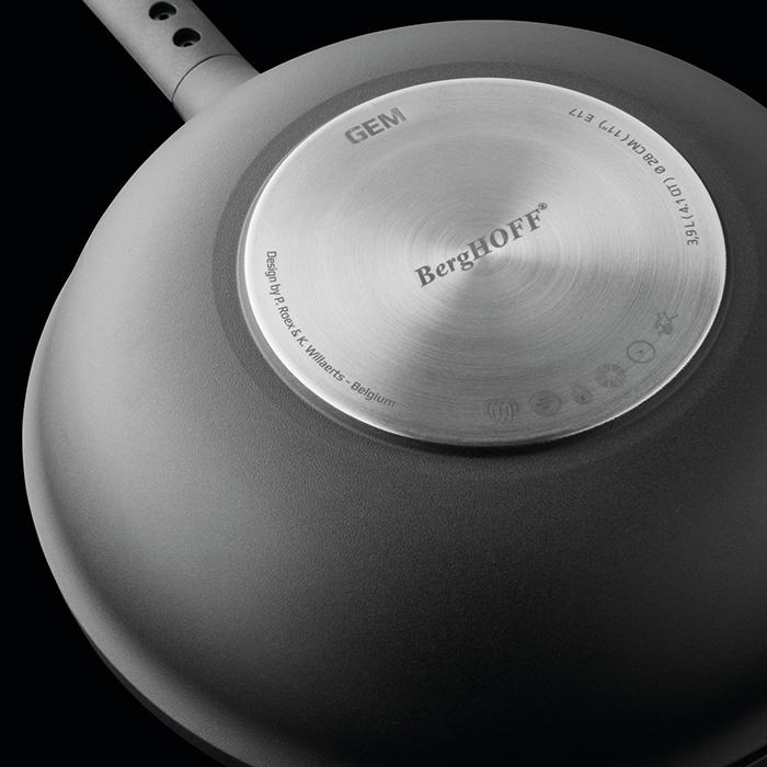 Сковорода с антипригарным покрытием Berghoff GEM, 28 см, 3,9 л