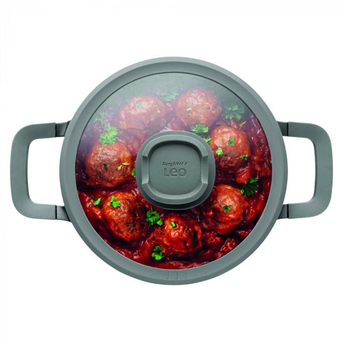 Кастрюля с антипригарным покрытием Berghoff LEO STONE, диам. 20 см, 2,7 л