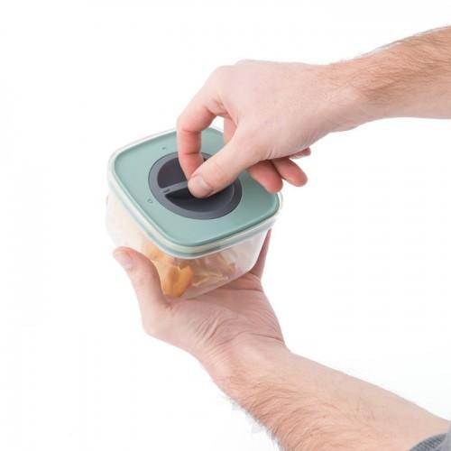 Контейнер для еды со смарт-системой хранения Berghoff LEO, 0,4 л, 11,5 х 11,5 х 7,5 см