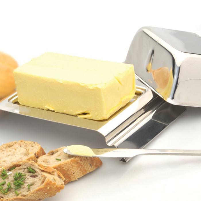 Масленка Berghoff Combo с ножом, 19,3 х 12 см