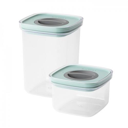 Набор контейнеров для еды со смарт-системой хранения Berghoff LEO, 2 пр.