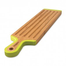 Доска для нарезания Berghoff длинная, бамбуковая с длинной силиконовой ручкой, 43 х 10 см